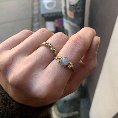 Bubbles Brilliant ring