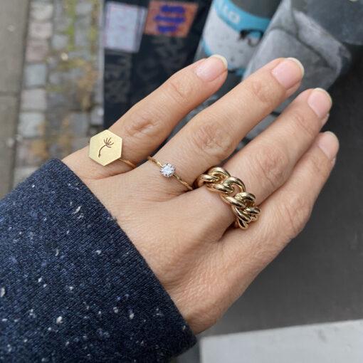 Round Panser Ring