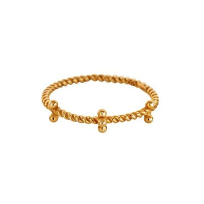 Lady Seven Gold Ring