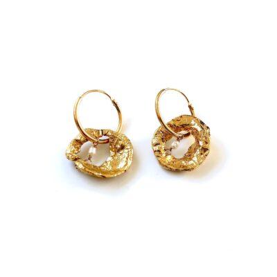 Naomi gold earrings