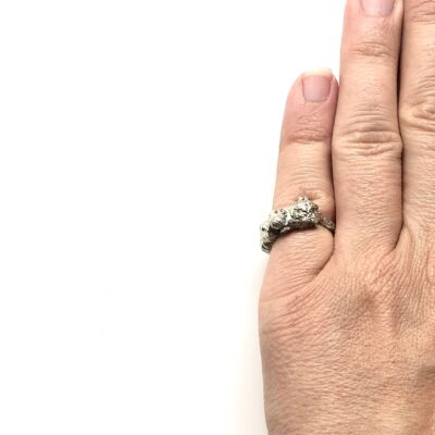 Gianna silver ring
