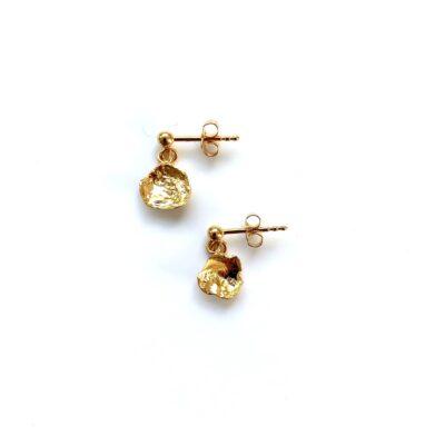 Fanny gold earrings