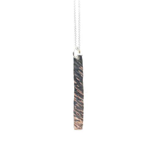Lungo silver necklace